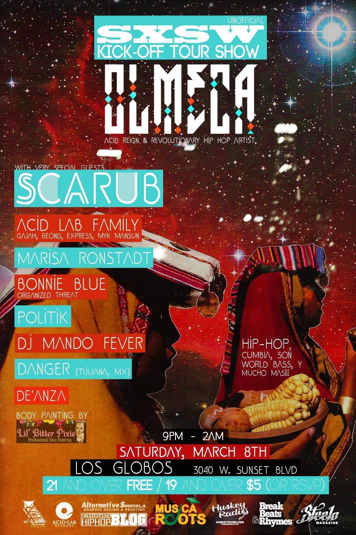 Olmeca Musica Olmeca at Los Globos | Musica
